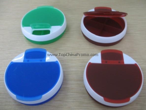 4 Compartment Pill Box