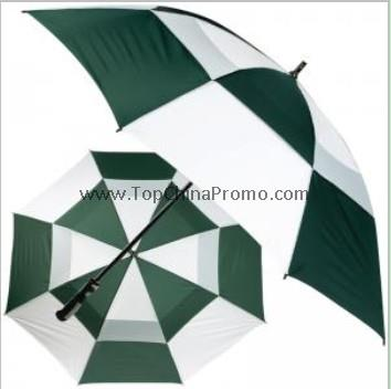 double layer golf umbrella