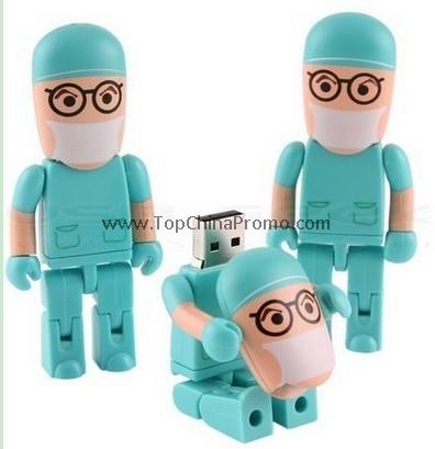Doctor USB Drive,Cartoon memory stick