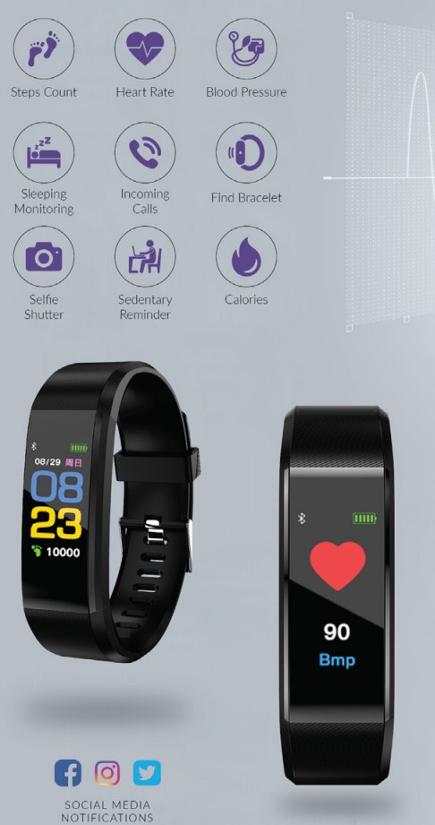 Fitness tracker monitor
