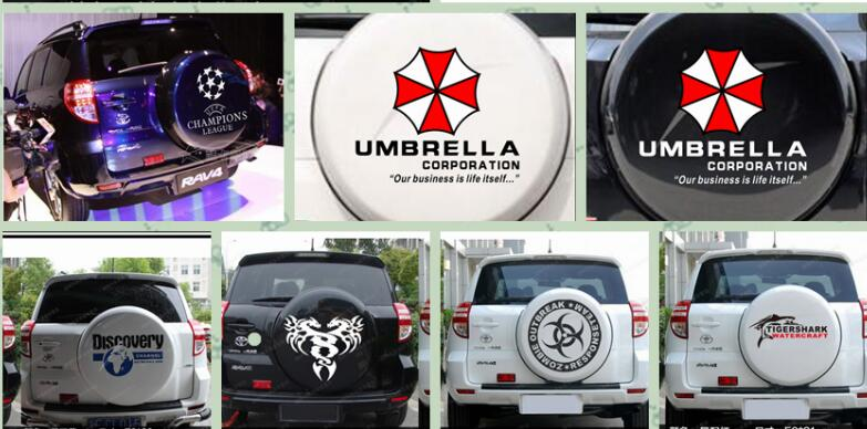 spare tire cover, wheel cover